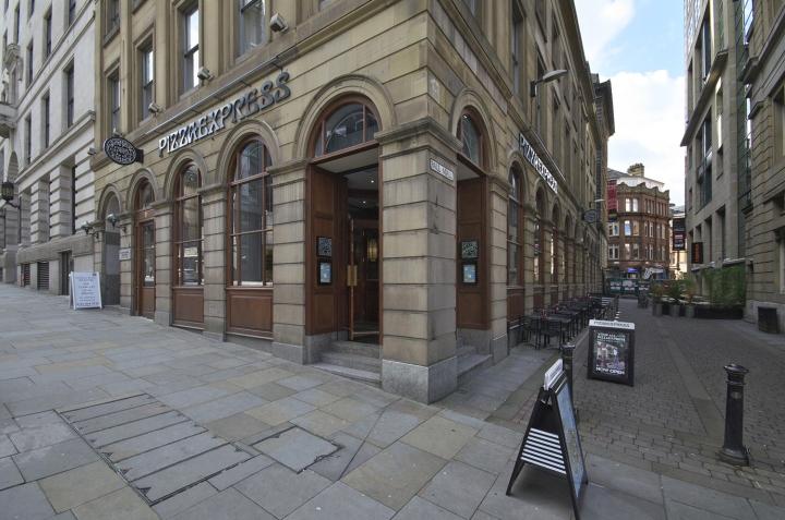 Pizza Express Manchester King Street.