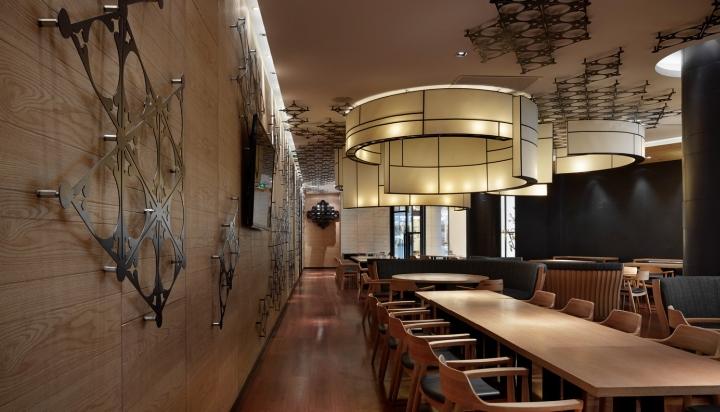 Rong Restaurant By Golucci International Design Tianjin China