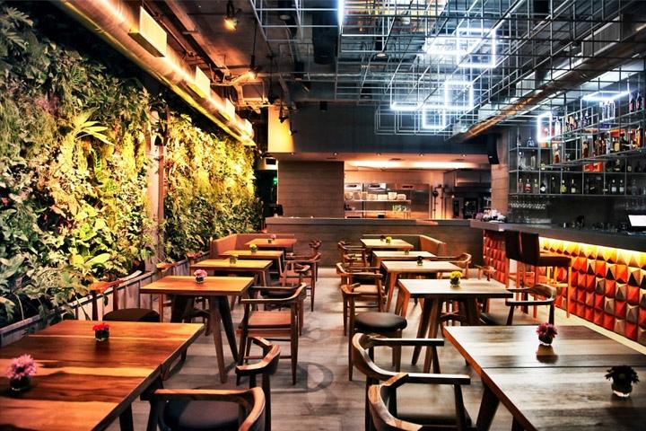 Open Restaurant Kitchen Designs open kitchen » retail design blog