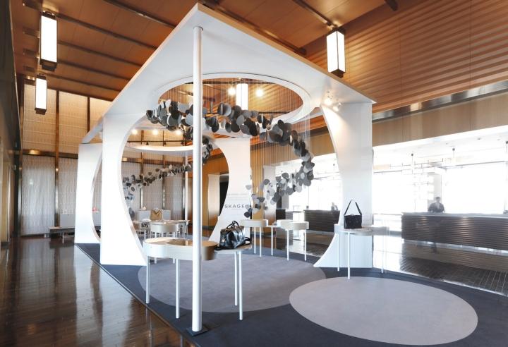 Skagen pop up shop by uxus at mandarin hotel tokyo for Design hotel tokyo
