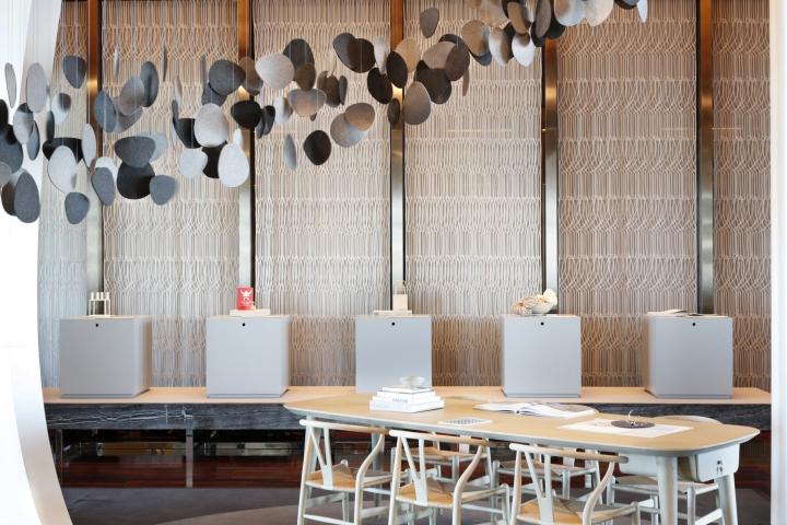Skagen pop up shop at mandarin hotel by uxus tokyo for Design hotel tokyo