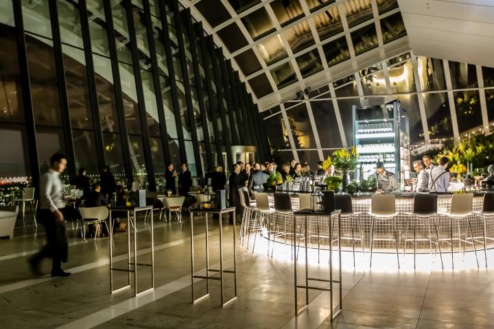 187 Sky Pod Bar Darwin Brasserie And Fenchurch Seafood Bar