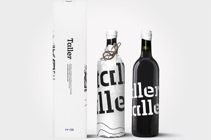 Taller酒包装设计