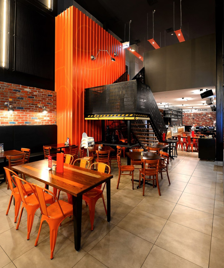 The Groove Train Southland Flagship Restaurant By Blackbox