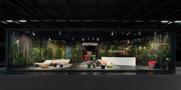 Modern Exhibition Stand By Me : Walter knoll stand at orgatec by ippolito fleitz