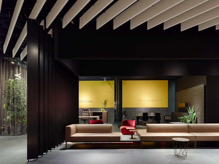 Interior Design Exhibitions 2014 walter knoll stand at orgatec 2014ippolito fleitz group
