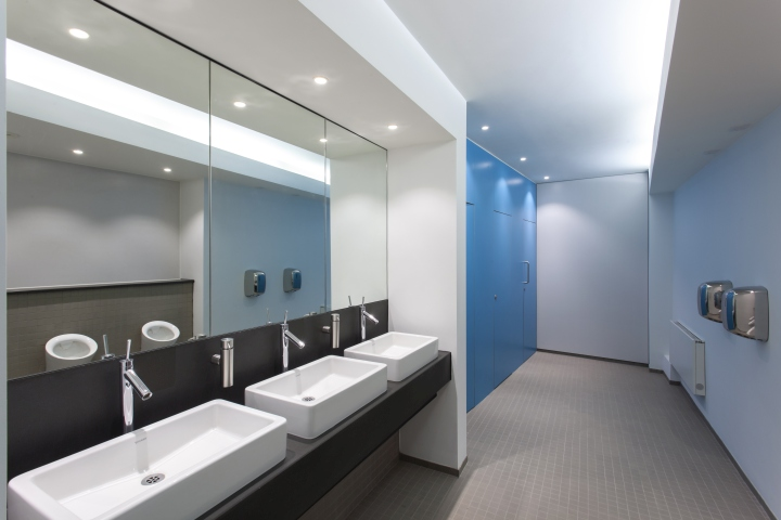 Lighting Basement Washroom Stairs: » 55 Princess Street Office Lighting By Hoare Lea Lighting