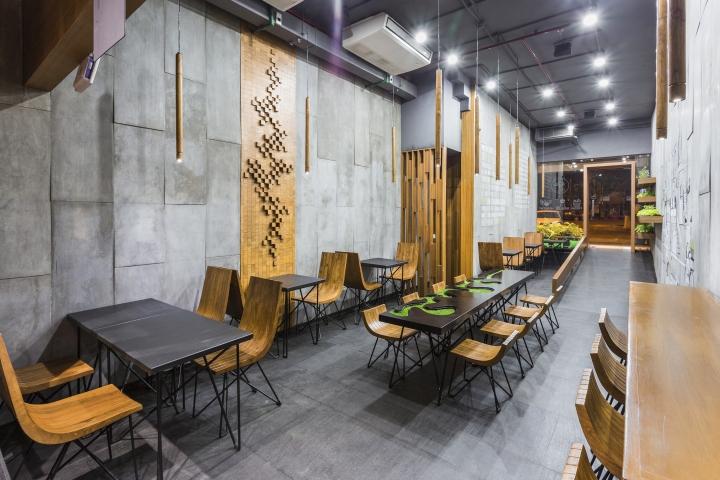 187 Aja Quick Service Restaurant By Arch Lab Chandigarh India