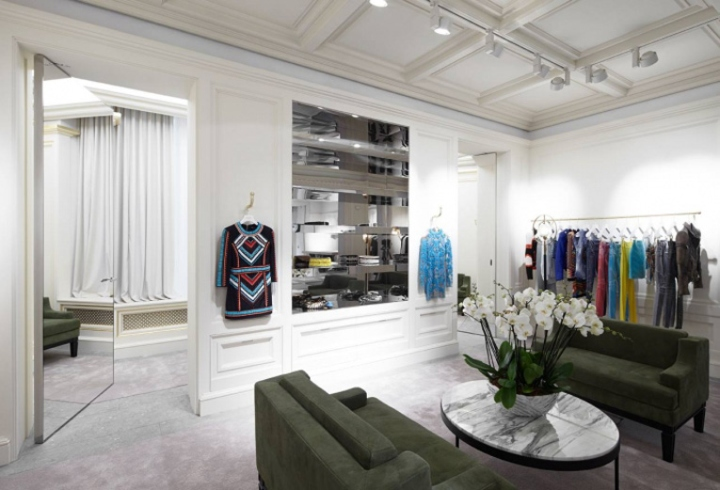 Balmain Store By Joseph Dirand London Uk 187 Retail