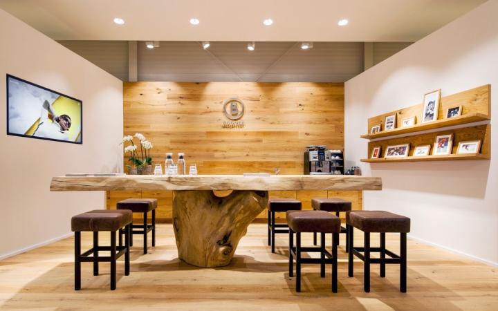 Bogner outlet store by mhp architekten bernau am chiemsee for Chiemsee design hotel
