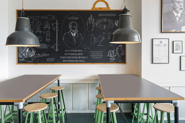 Café Ferdinand By Aerogram Studio, Hamburg U2013 Germany
