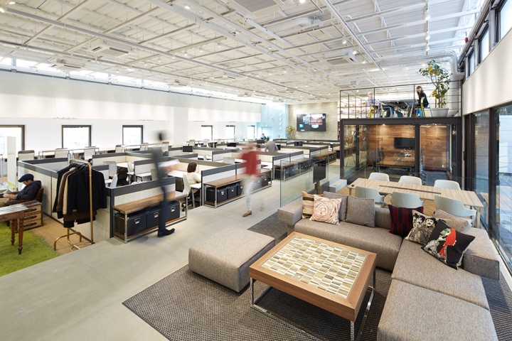 Office space retail design blog for Japanese office interior design