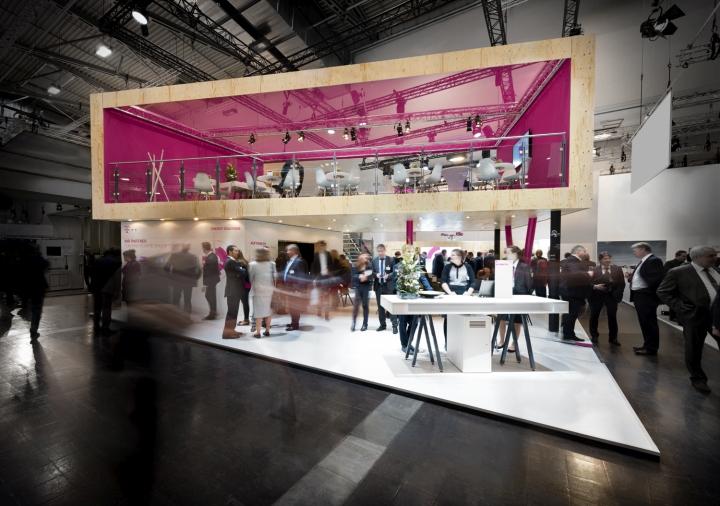 Exhibition Stand Design Germany : Deutsche telekom stand by hartmannvonsiebenthal at e world