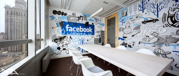 Facebook office by Madama, Warsaw – Poland » Retail Design Blog