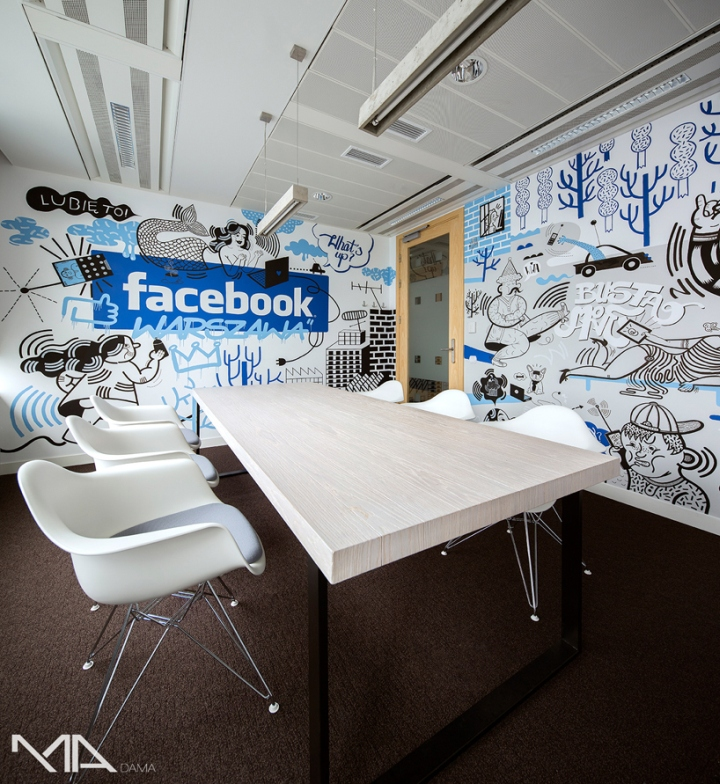 » Facebook Office By Madama, Warsaw