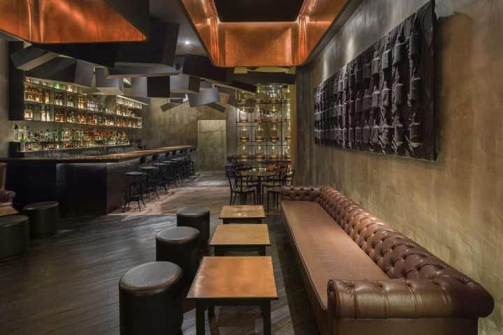 Flask And The Press Is An Unconventional Duo That Upends The Traditional  Speakeasy Concept: An Intimate Contemporary Lounge Concealed Behind The  Facade Of A ...