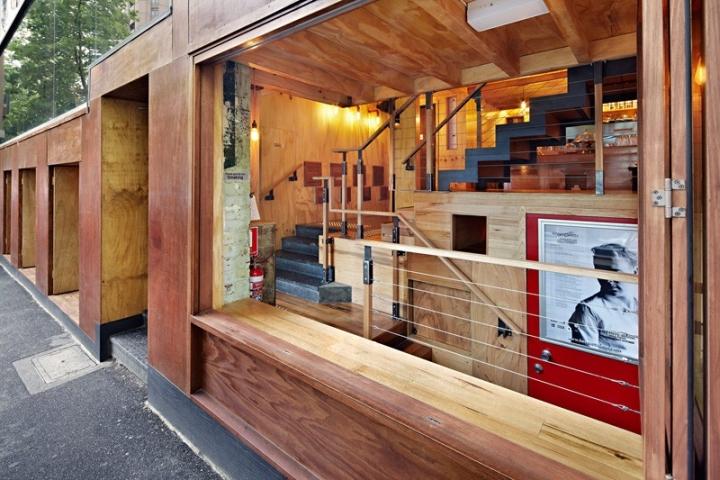 Flipboard café street food by brolly design melbourne australia