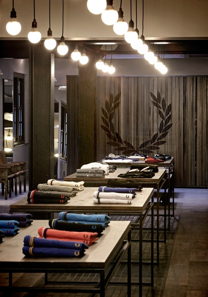 Japanese Hairdresser Covent Garden: » Fred Perry Flagship Store By Buckley Gray Yeoman, London