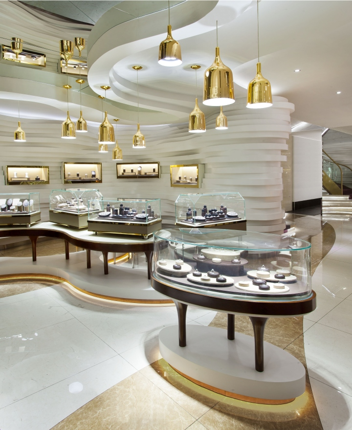 Gemania jewellery store by joey ho design limited yibin for Space design ltd