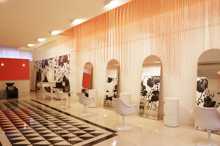 Glam5 Beauty Salon By Haldane Martin Cape Town South Africa Retail Design Blog