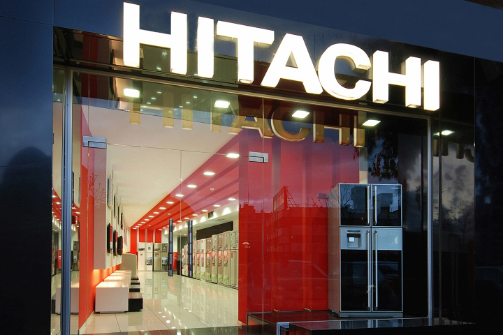 Hitachi Showroom By First Half Design Damascus Syria