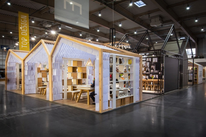 Exhibition Stand Builders Poland : Human touch group pavilion by mode lina at arena design