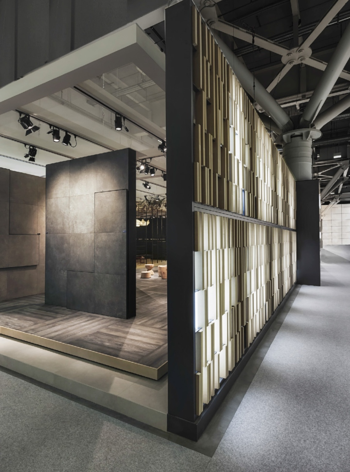 Exhibition Stand Design Italy : Kale group stand by paolo cesaretti at cersaie