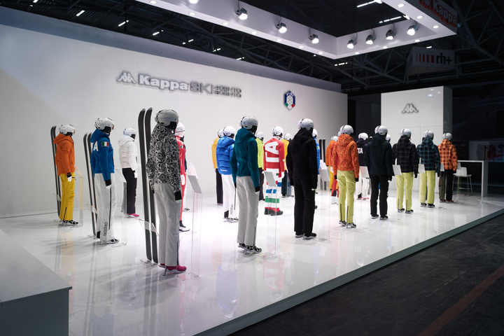 Exhibition Stand Display Lighting : Kappa ski exhibition stand by gran torino design at ispo