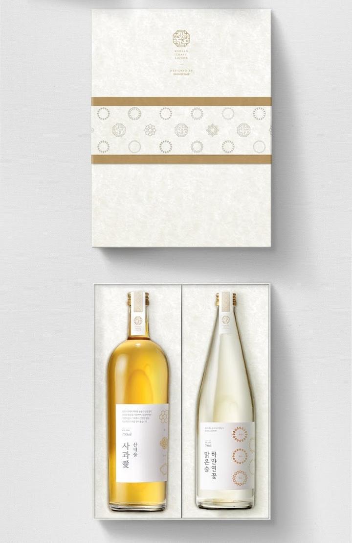 187 Korean Craft Liquor Brand Amp Bottle Packaging Design By