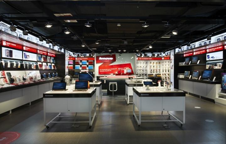 北京联想3c店专卖店设计