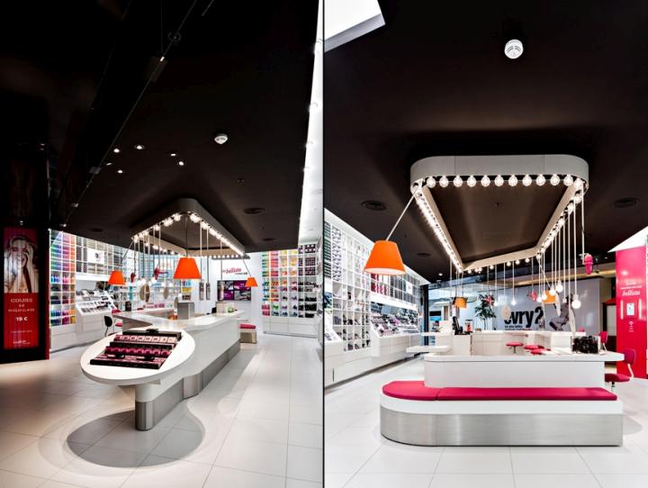 187 Les Bellista By Nocib 233 Store By Rev Architecture Paris