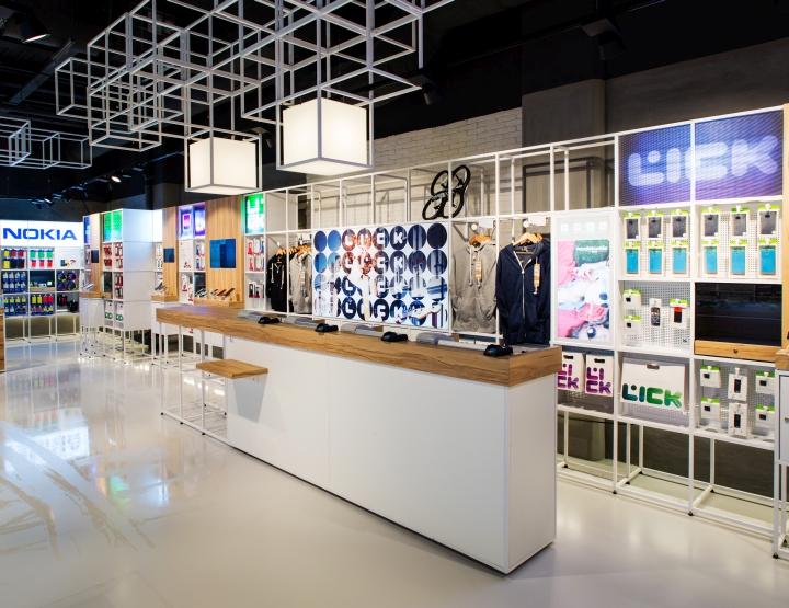 巴黎数字产品高科技专卖店设计