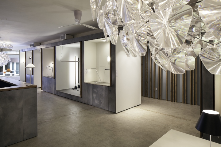 2/17/2015 New York, NY. Luceplan's new showroom in SoHo.