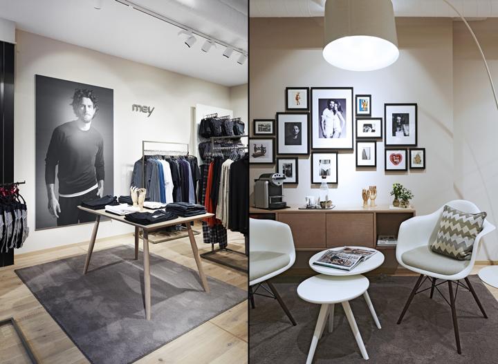 Mey bodywear store by cri cronauer romani for Interior design bielefeld