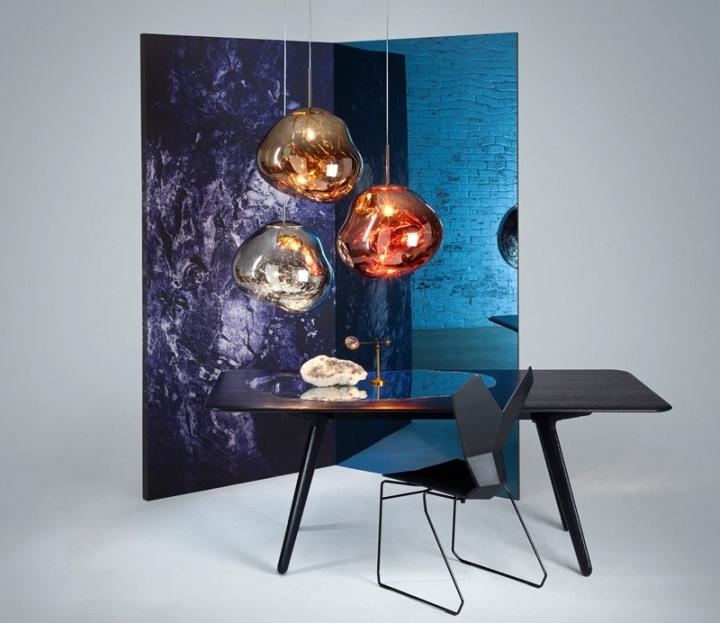 melt pendant light by tom dixon front retail design blog. Black Bedroom Furniture Sets. Home Design Ideas