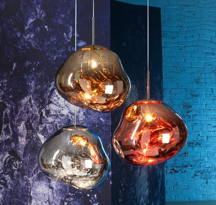 melt pendant light by tom dixon front retail design blog. Black Bedroom Furniture Sets. Home Design Ideas