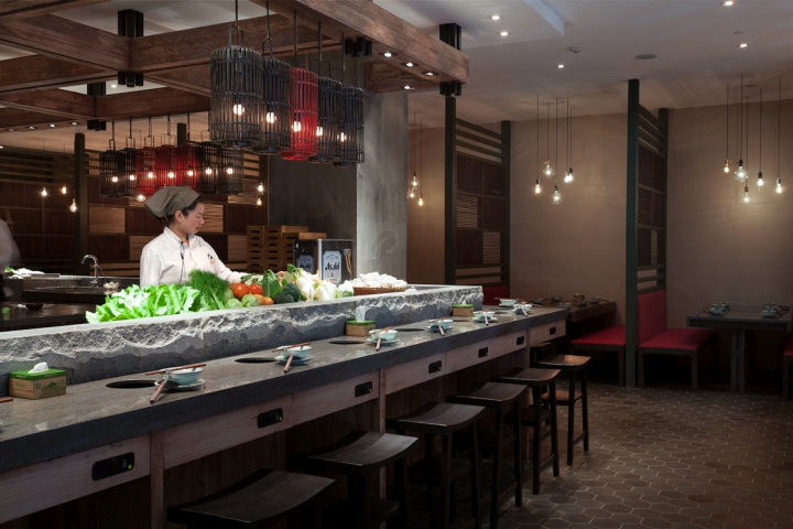 187 Qimin Hot Pot Restaurant By Hot Dog Decor Interior