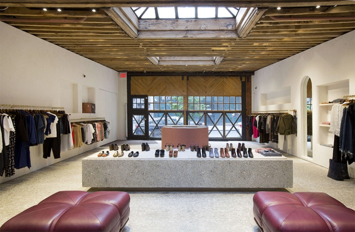 Rachel comey flagship store new york city retail design for Furniture stores in soho new york city
