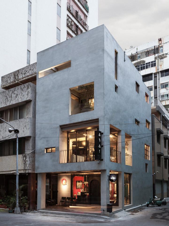 187 Renovation Of Split Level Hair Salon By Hao Design