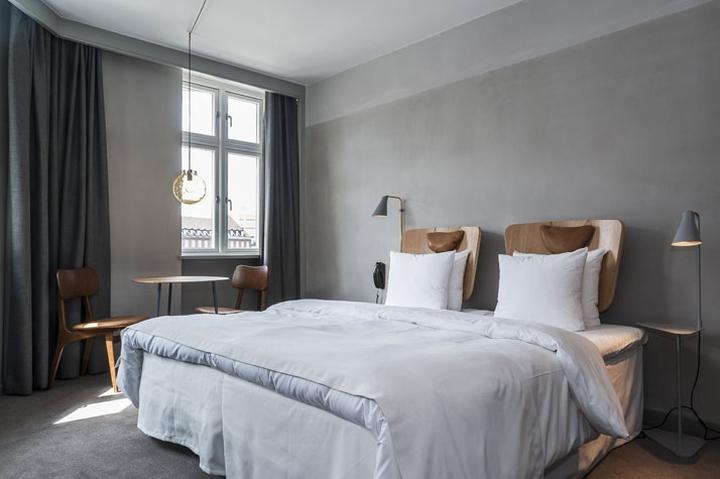 sp34 boutique hotel by morten hedegaard copenhagen denmark. Black Bedroom Furniture Sets. Home Design Ideas