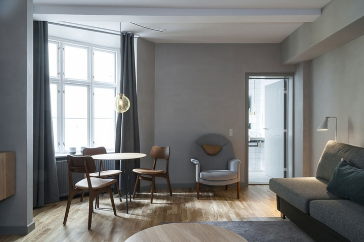 sp34 boutique hotel by morten hedegaard copenhagen denmark retail design blog. Black Bedroom Furniture Sets. Home Design Ideas