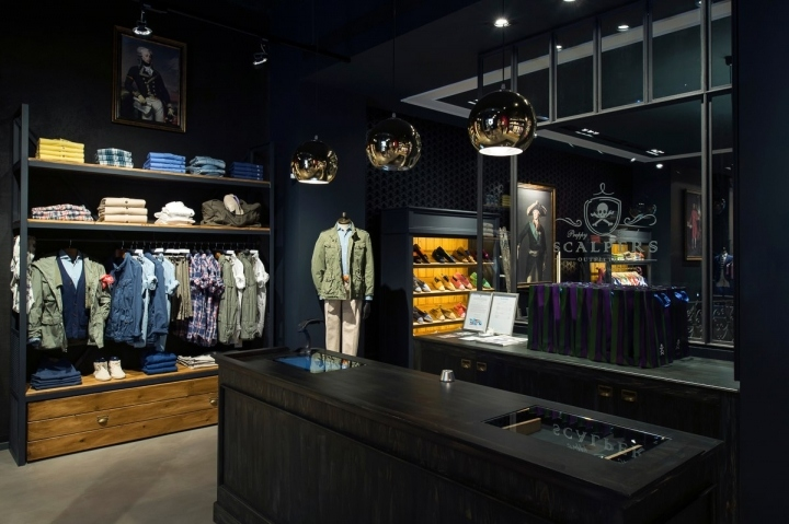 Scalpers flagship store barcelona spain retail design - Scalpers madrid ...