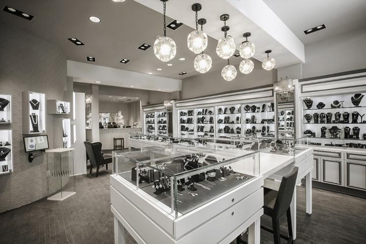 俄亥俄州明星珠宝专卖店设计