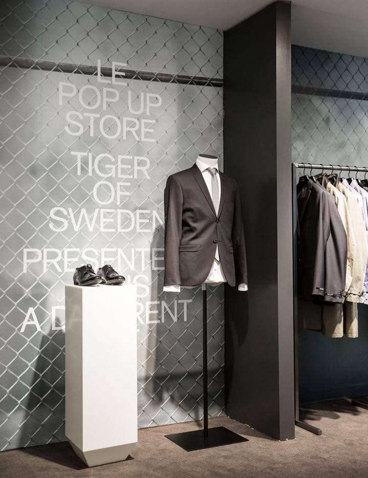 tiger of sweeden pop up store at galeries lafayette paris france retail design blog. Black Bedroom Furniture Sets. Home Design Ideas