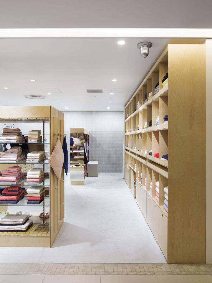Uchino My GauzeMy Towel Store by Schemata Architects, Tokyo – Japan ...