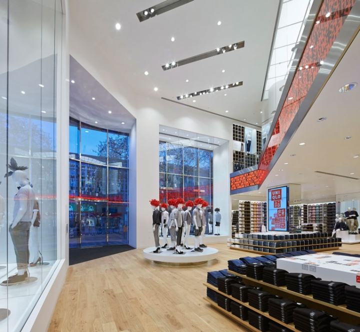 Uniqlo Flagship Store By Wonderwall Berlin Germany