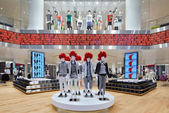 187 Uniqlo Flagship Store By Wonderwall Berlin Germany