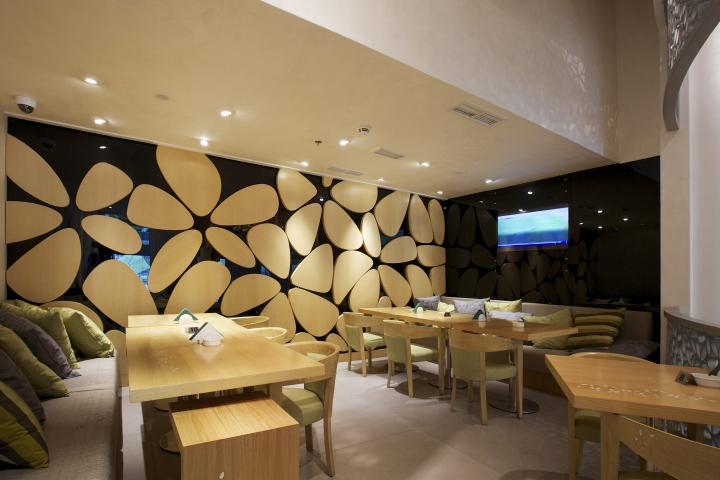 Yasmenn al sham restaurant by space dubai uae retail