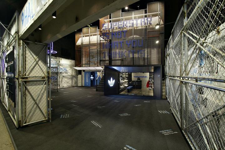 adidas superstar hall of fame pop up store von urbantainer, seoul