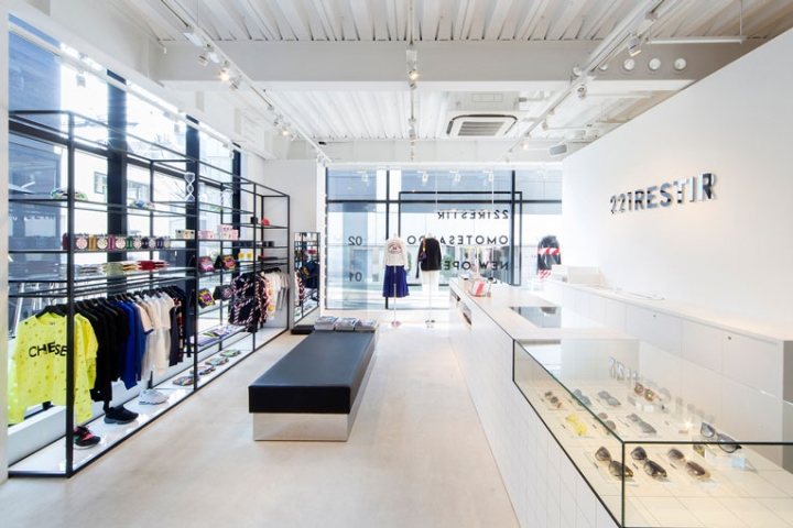 Minimalist interior retail design blog for Minimalist concept interior design